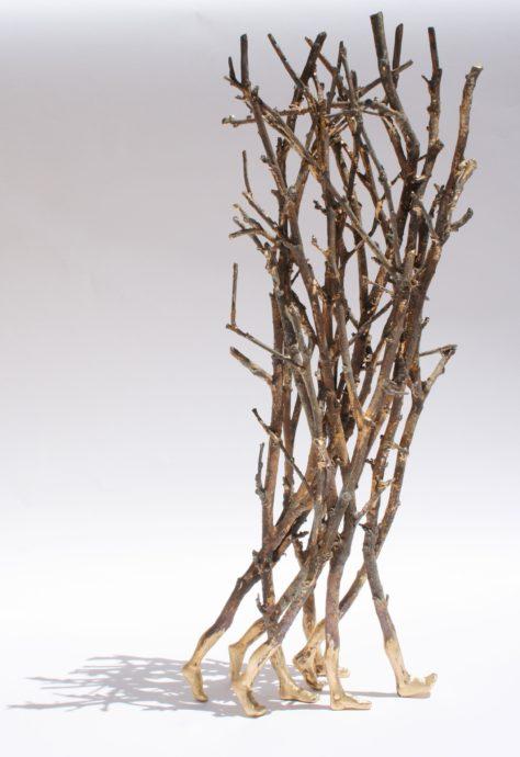 Barbara Perquin, 'Up', brons, unicum, 50 x 20 x 13 cm