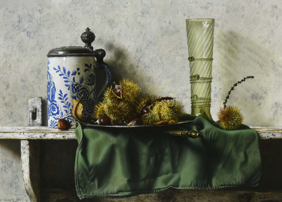Walter Elst, 'October Opulance', oil on panel, 41,2 x 57,1 cm