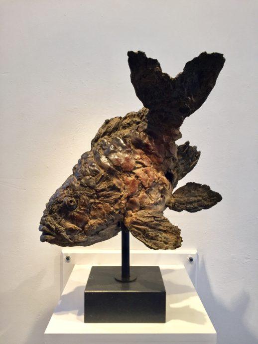 Pieter Vandendaele, 'Alphons', brons, 50 cm