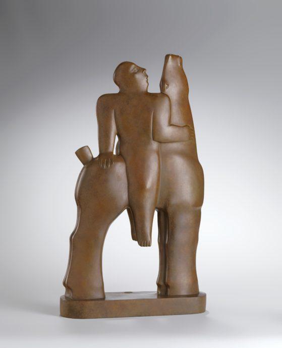 Kobe, ´Unita', brons, 60 x 35 x 10 cm