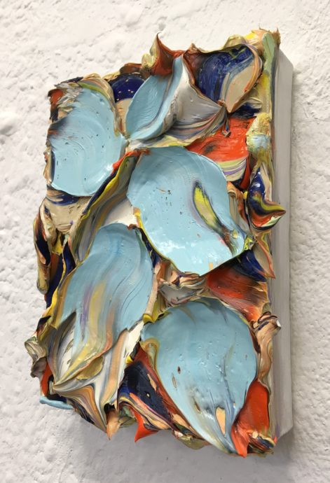 Wil Jansen, zonder titel, 2017, olieverf op doek, 26 x 20 cm