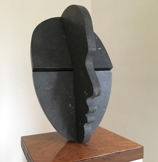 Teun Anders, Object, belgisch hardsteen op sokkel