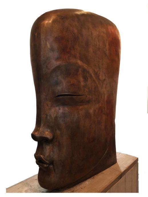 René Rikkelman, ´B42´, brons, 100 cm hoog, oplage 16 ex.