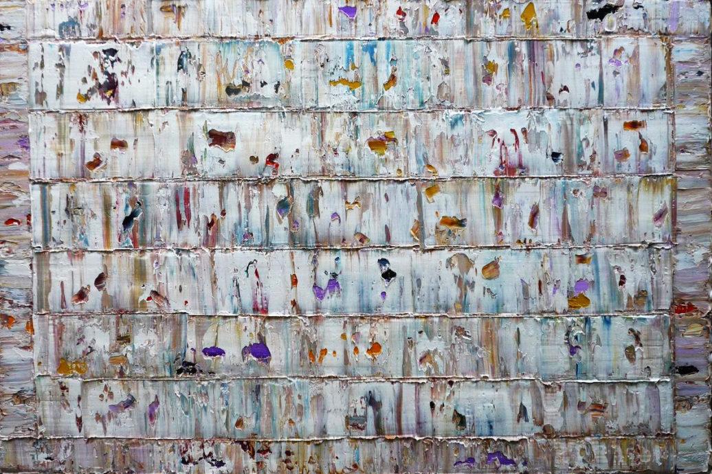 Rinus Hofman, 'Nui', 2017, olieverf op linnen, 84 x 124 cm