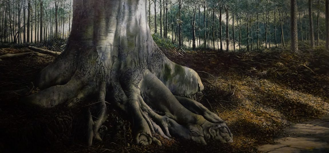 Wout Wachtmeester, Third Encounter of Solitude, Acryl op doek, 90 x 120 cm
