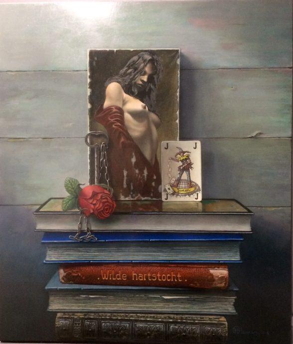 Frank Fleuren, 'The Game Of Love', 49 x 43 cm