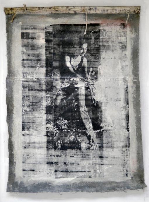 Robbert Fortgens, gemengde technieken, 200 x 130 cm