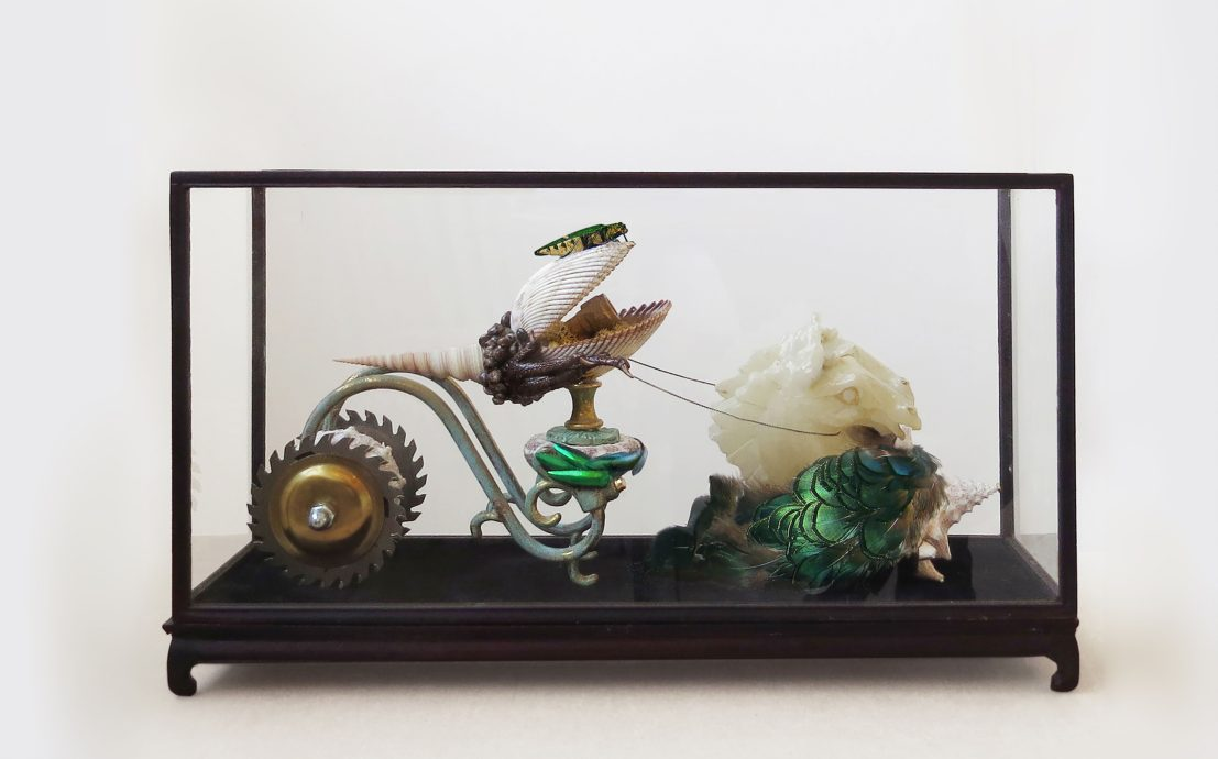 Mishmash, 'Drive me crazy', Assemblage, Mixed media, 26,5 x 15,5 x 46,5 cm