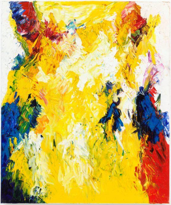Hans Bies, zonder titel, 2010, olieverf op doek, 120 x 100 cm