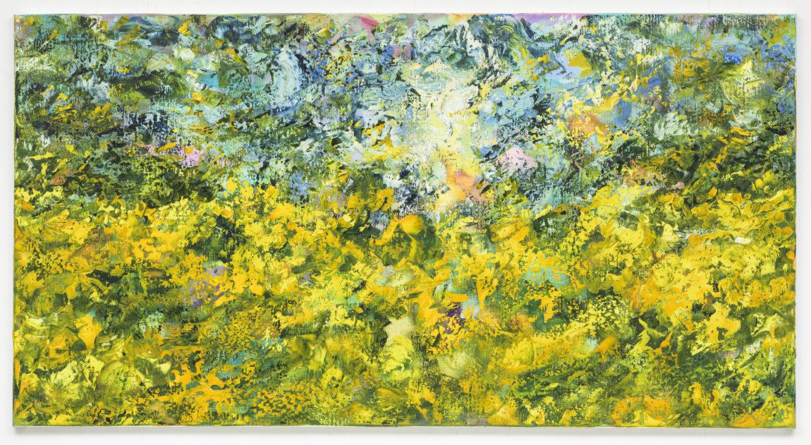 Hans Keuls, 'Summertime rhythm field', 2016, olieverf op doek, 90 x 170 cm
