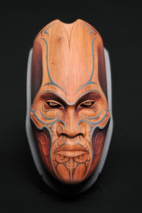 Todd Couper, Maori Mask (2017)