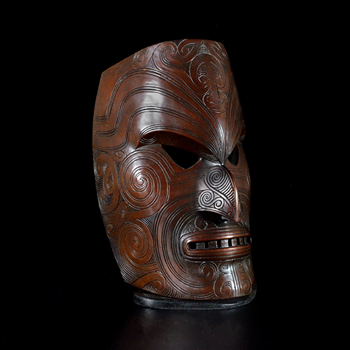 Joe David, Maori Warrior Mask (1996)