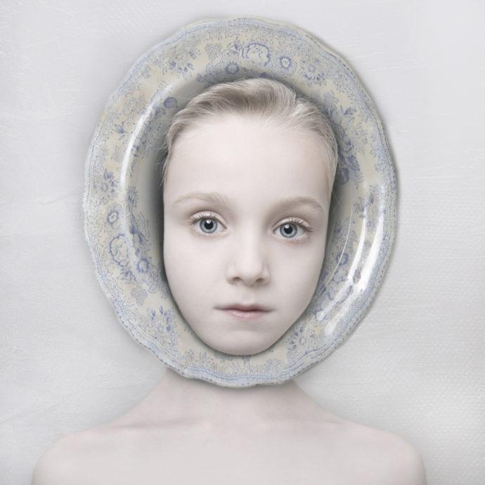 Kaar Stieber, 'Porcelain 3A', Pigmentprint dibond plexiglas, 30x30 cm