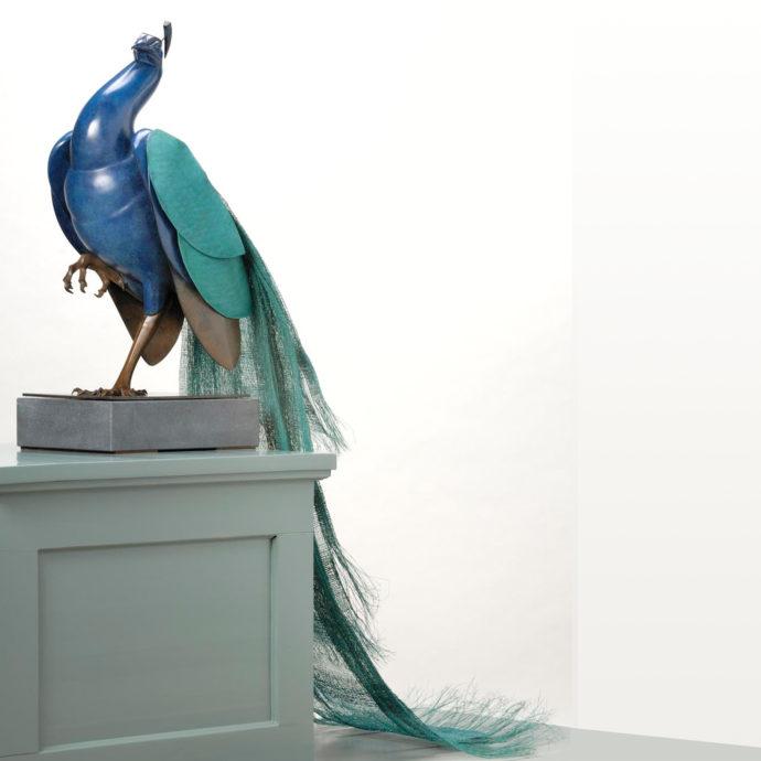 Martin Hogeweg, 'Pauw', bronze