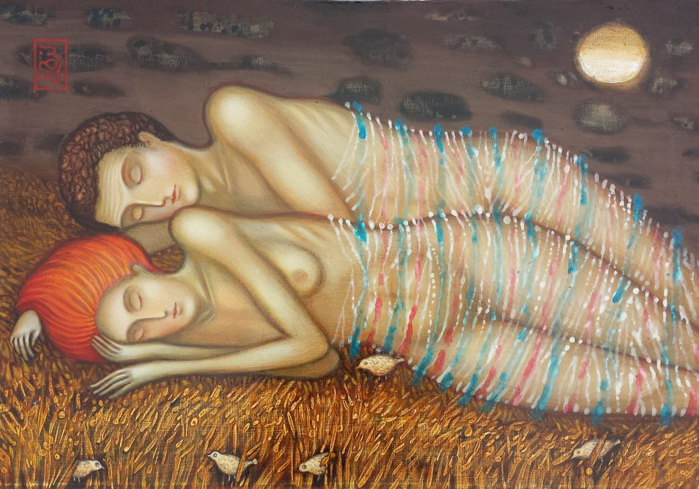 David Popiashvili, 'Summer Dreams', 50 x 72 cm