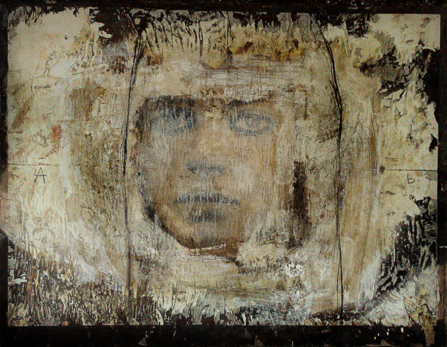Simona Fedele, 'Calce Viva', 100 x 130 cm