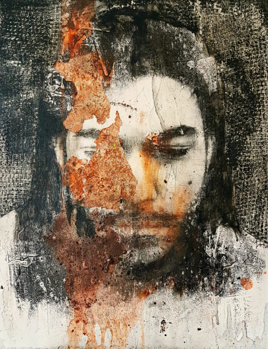 Simona Fedele, 'Terra (Serie terra-acqua)' 47 x 37 cm