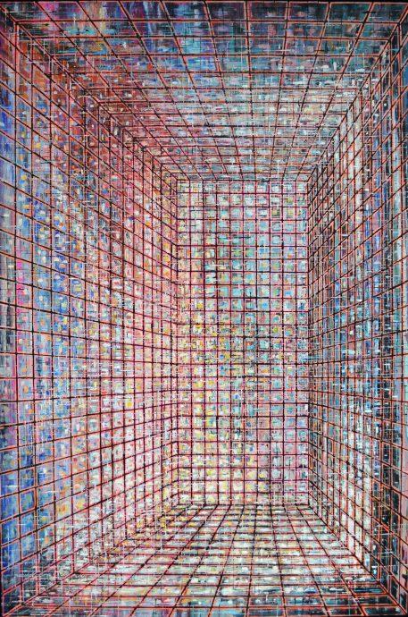 Galerie Martin Copier. Olieverf op doek. 1200 mm x 800 mm. €2395,-