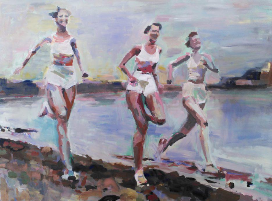 Gaïd Ombre. Running.