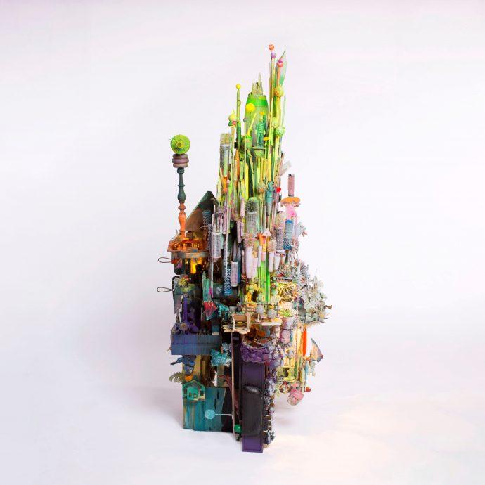 Amerentske Koopman. Galerie Martin Copier. Pointless Meeting. Gemengde techniek. 90 x 65 x 55 cm. €4500,-