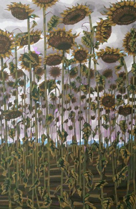 Tarja Laine. Last Sunflowers.