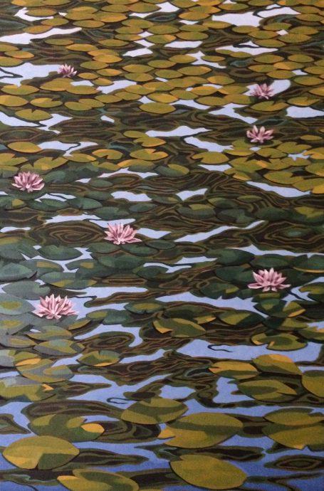 Tarja Laine. Waterlily Field.