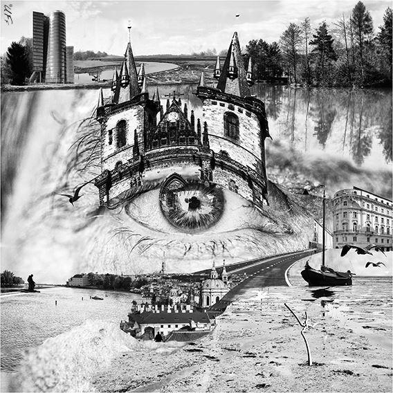 The Journey. 2017. Foto geprint op artpaper. Ingelijst. 60x60 cm.