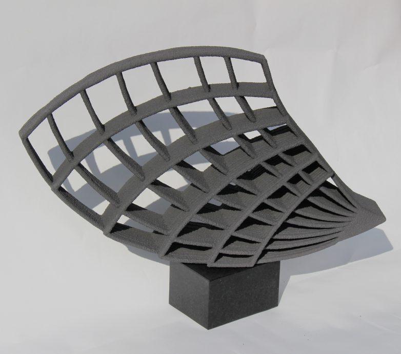 Harmony. Keramiek, handgemaakt. 45x60x12 cm.