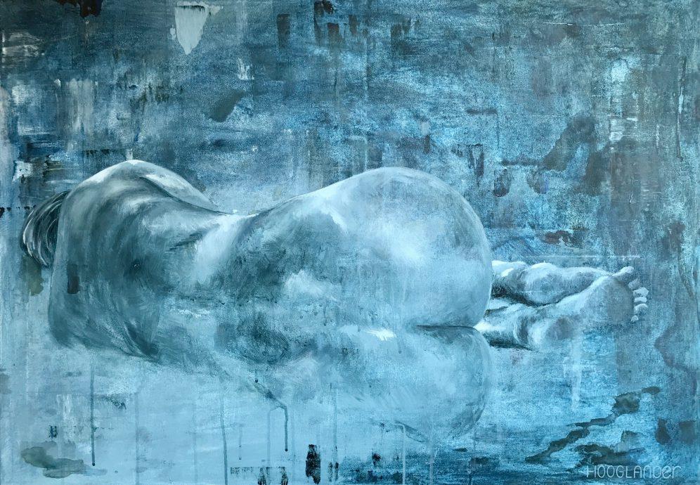 Feels. Acryl op canvas. 70x100 cm.